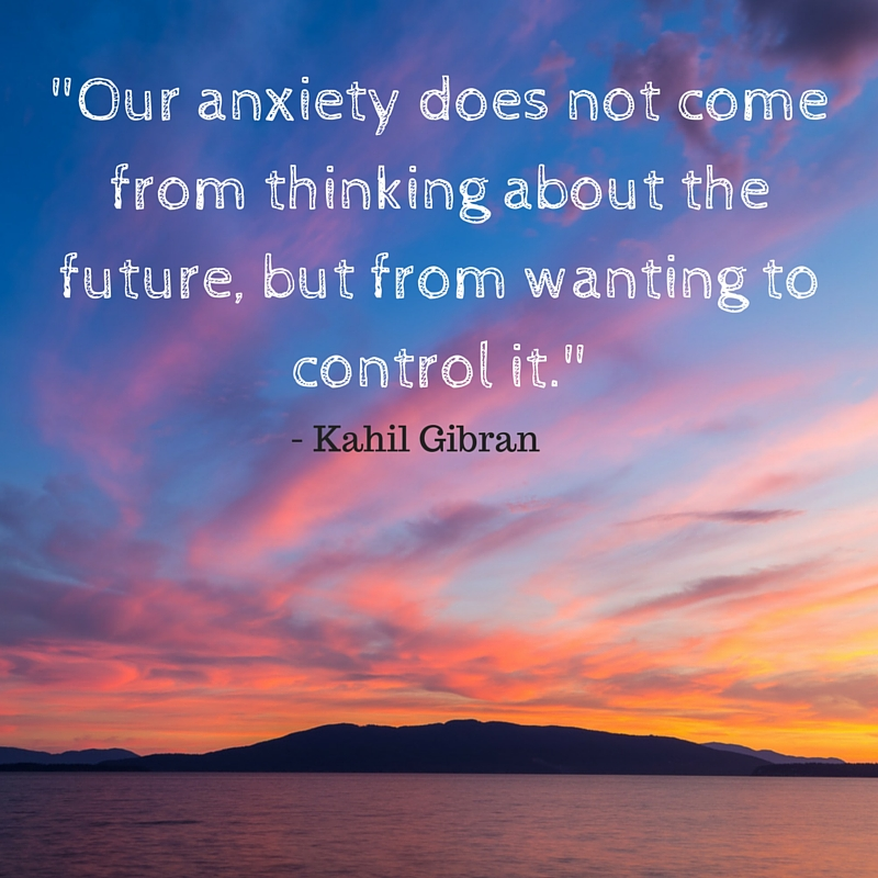 """Our anxiety does not come from thinking (1)"