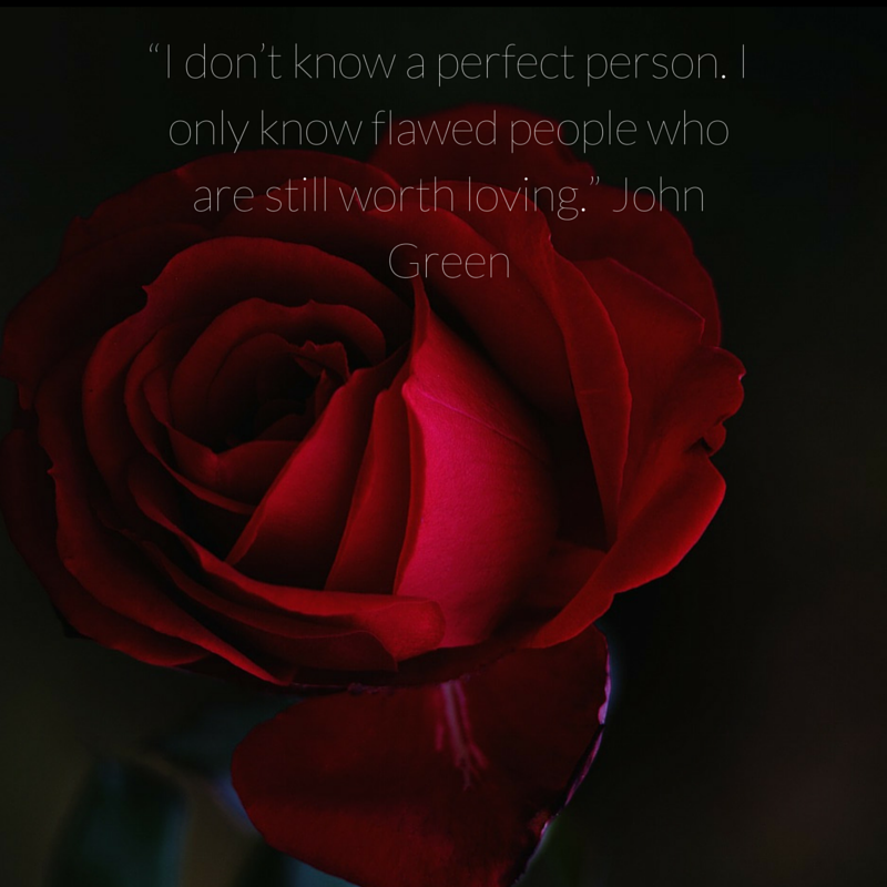 imperfect people, perfect love