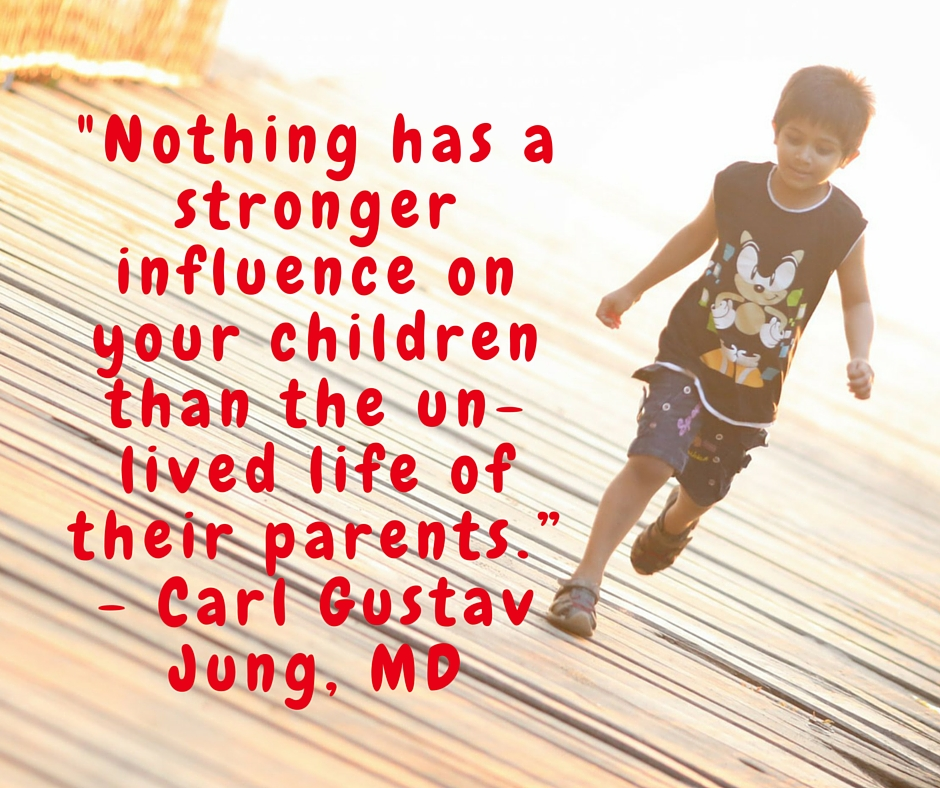 influencing children by loving each other
