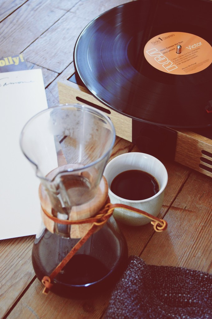 coffee and music marriage