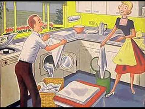 doing chores together