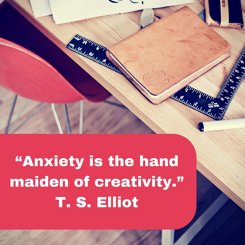 anxiety leads to creativity