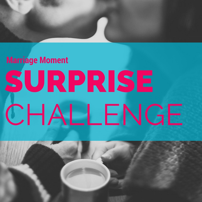surprising your spouse challenge