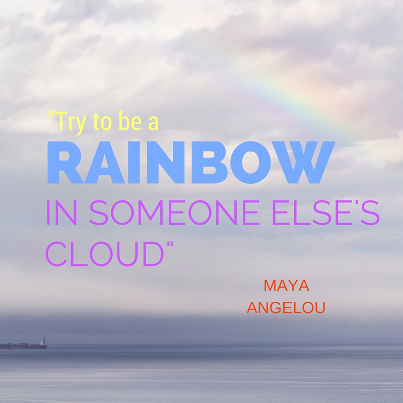 being the rainbow